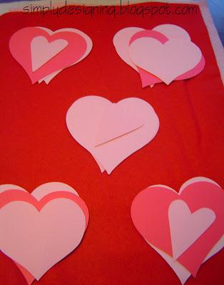 hearts+cut Hanging Hearts 10
