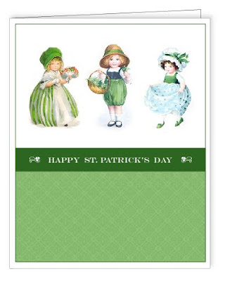 image regarding St Patrick's Day Cards Free Printable referred to as St. Patricks Working day Playing cards - No cost and Printable