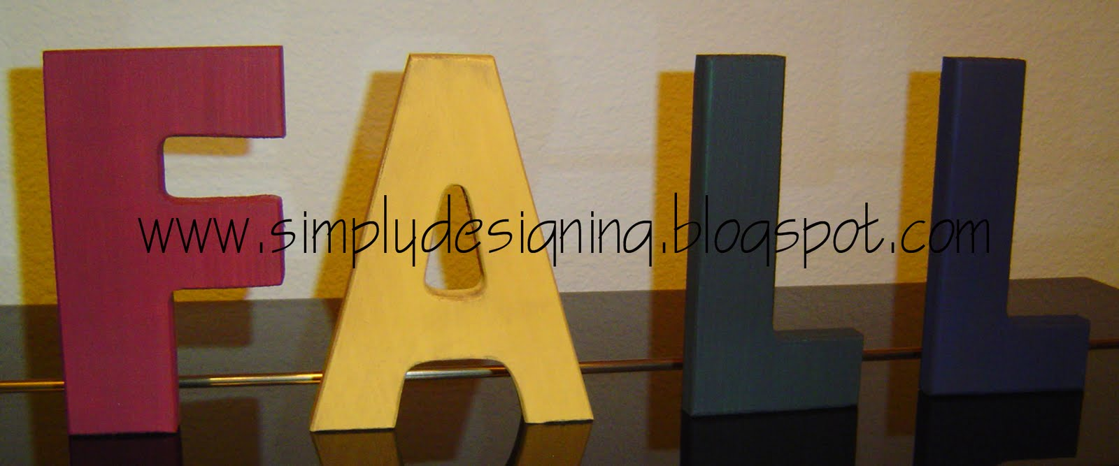 Wooden Craft Letters Uk