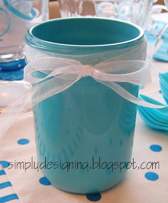 jar+finished Painted Mason Jars 22