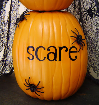 scare Boo, Eek, Scare - Stacking Pumpkins 15