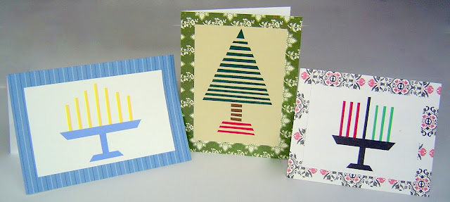 Cards+03 DIY Simple Homemade Holiday Cards (Christmas, Hanukkah & Kwanzza) 9
