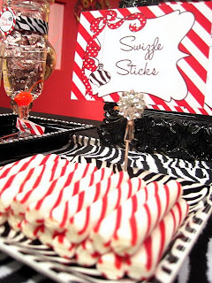 swizzle+sticks Ornament Exchange Party - FREE Invitation and a Banner GIVEAWAY! 16