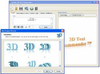 Baixar - Insofta 3D Text Commander 2.0