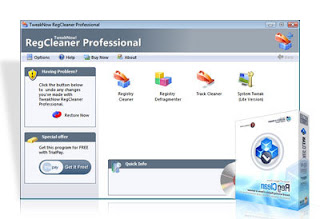 TweakNow RegCleaner Professional 3.8.0 Retail
