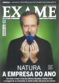 Revista Exame Natura - Julho 2009