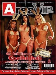 Download - Revista Area Vip Coelhinhas - Agosto  2009