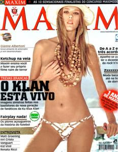 Download Gianne Albertoni Maxim Brasil 08-2009