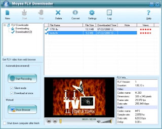 Download - Moyea FLV Downloader 1.16.0.17