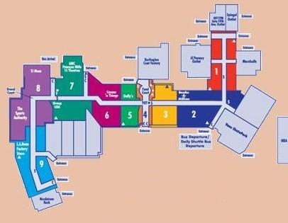 THE SHOPPING MALL MUSEUM – Destiny Usa Mall Floor Plan