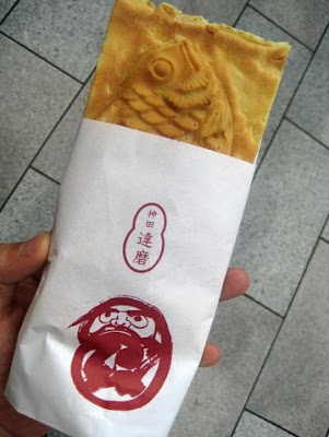 More photos with Taiyaki Daruma