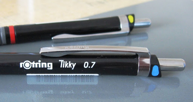 Rotring Tikky mechanical pencil pocket clip