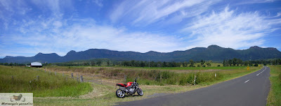 Good Motorcycle roads Brisbane - Lake Moogerah