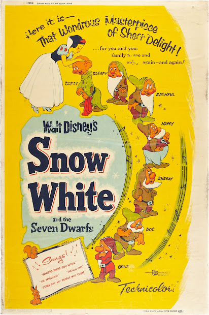 Filmic Light - Snow White Archive 1958 40x60