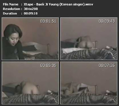 Baek ji young sex tape