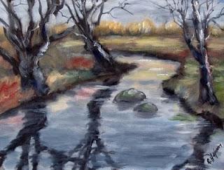 Johnson Creek Wintertime by Rich Hoffman