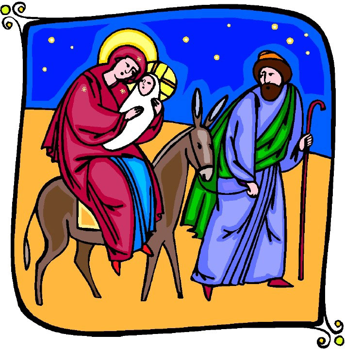 Unique Religious Christmas Clip Art Borders