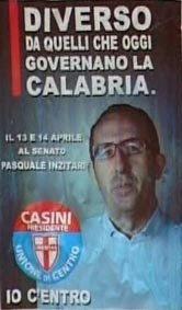 manifesto elettorale di Pasquale Inzitari