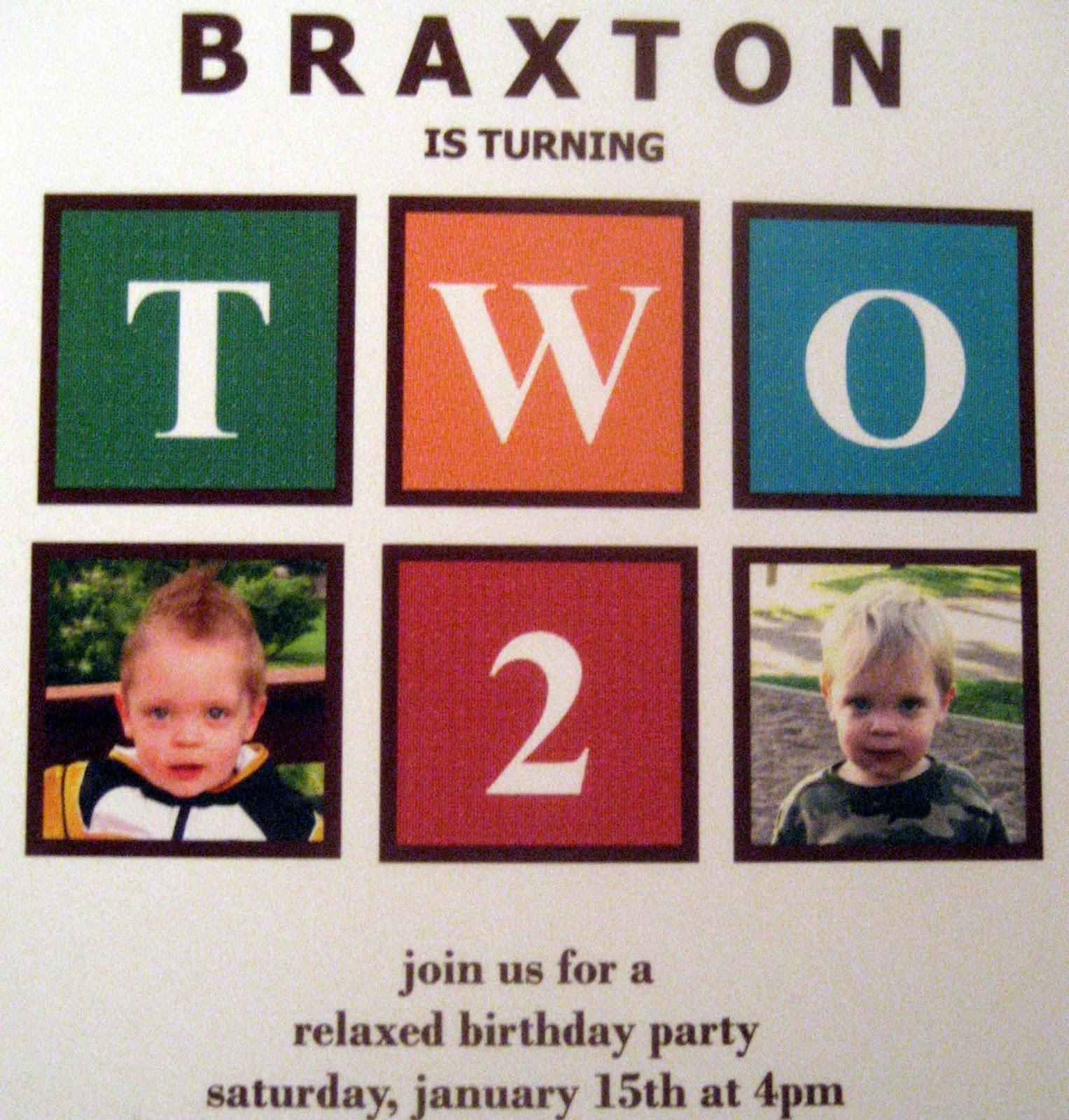 2 Heldt Boys: 2 Year Old Birthday Party