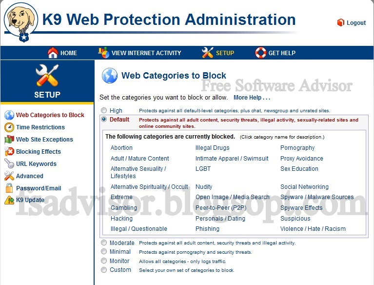 Protection Website Free