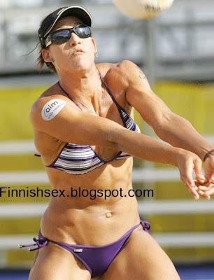 Sexy beach volley ball photos