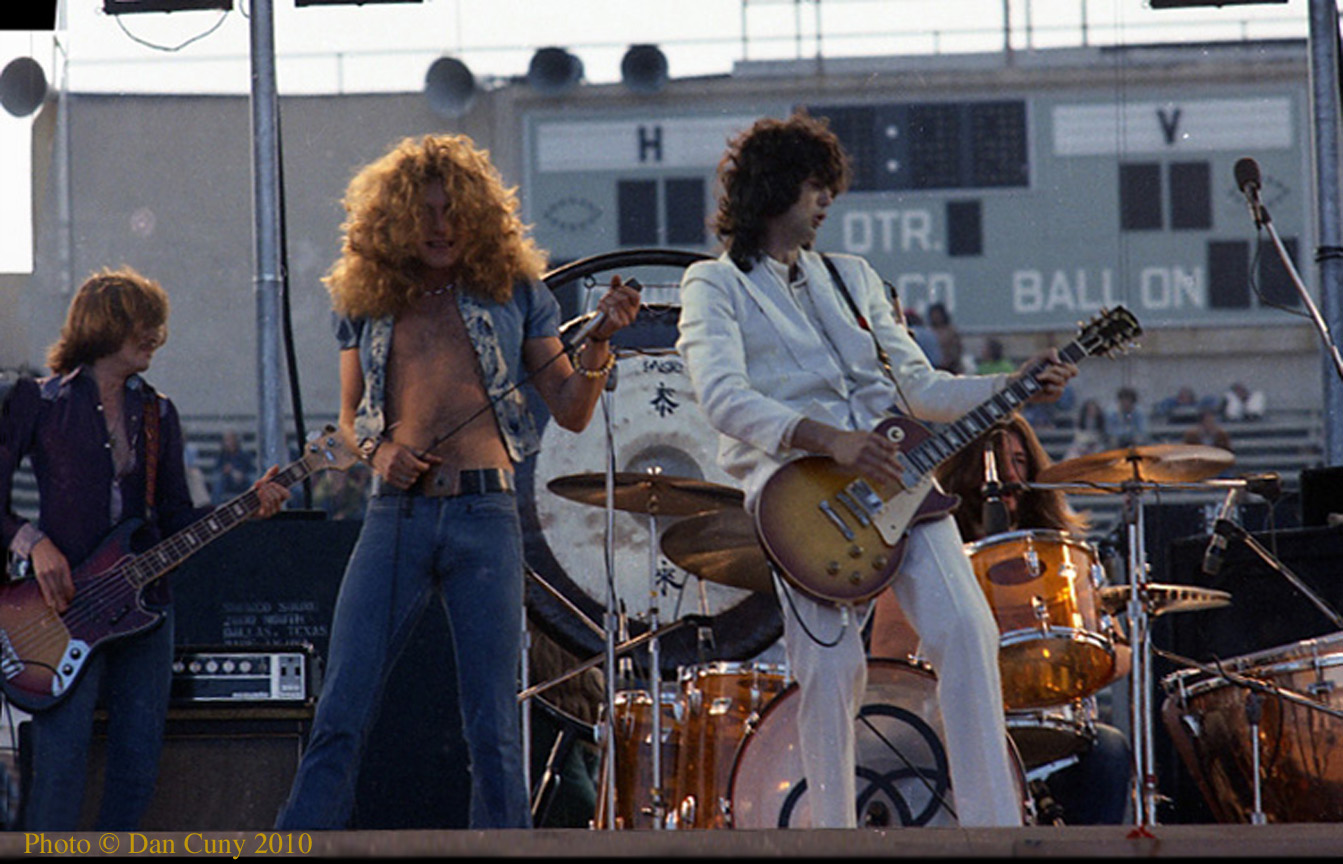 Brit Rock By The Bay Led Zeppelin June 1973
