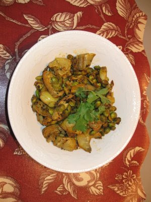 Artichoke Bhaji is healthy curry