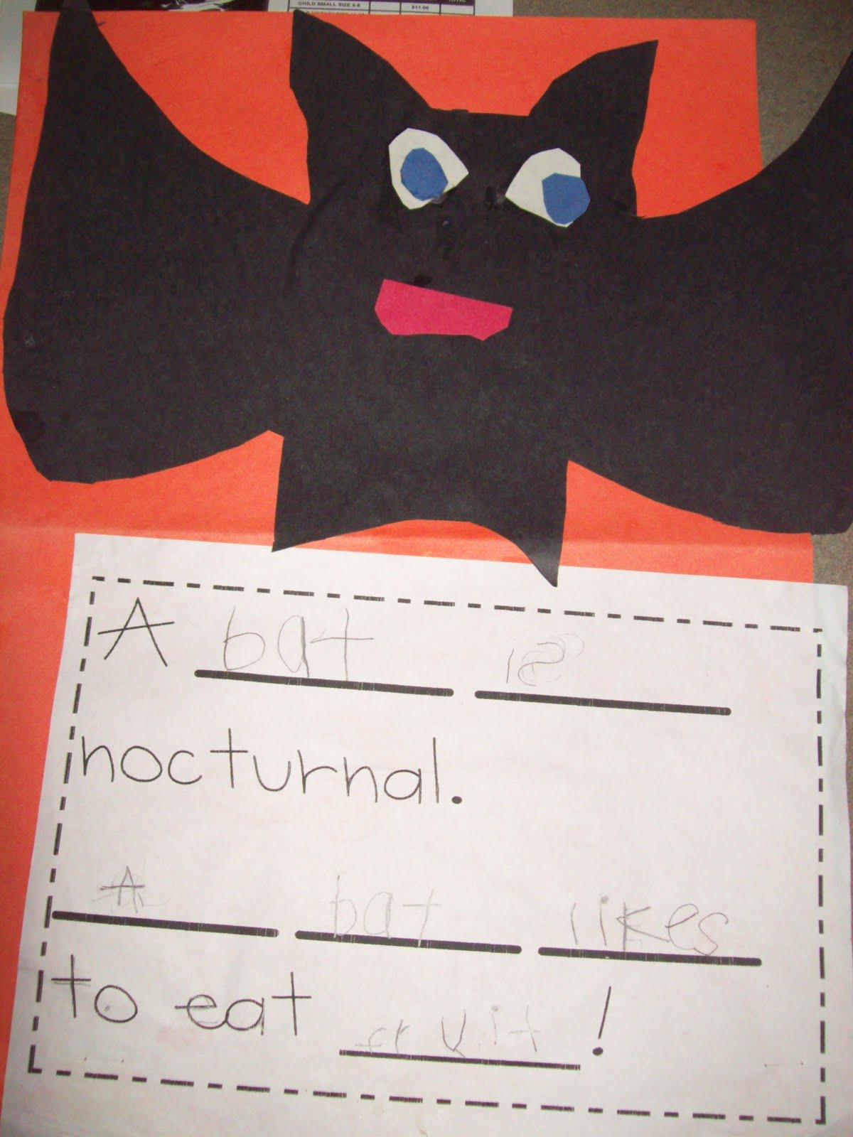 Chalk Talk A Kindergarten Blog Bat Ideas