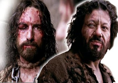 Image result for barrabas - passion of the christ