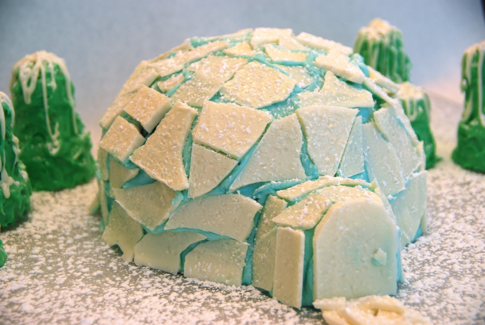 Igloo Cake Pan Recipe