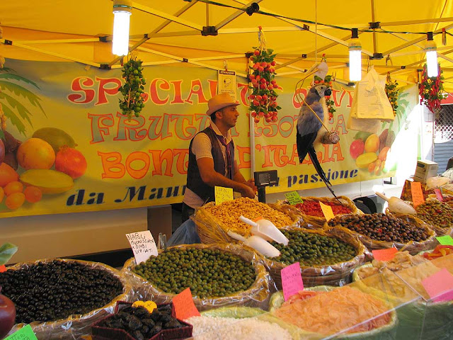 Sant'Antonino food fair, Livorno