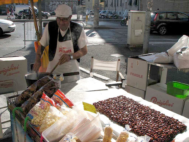 Preparation of croccante, Livorno