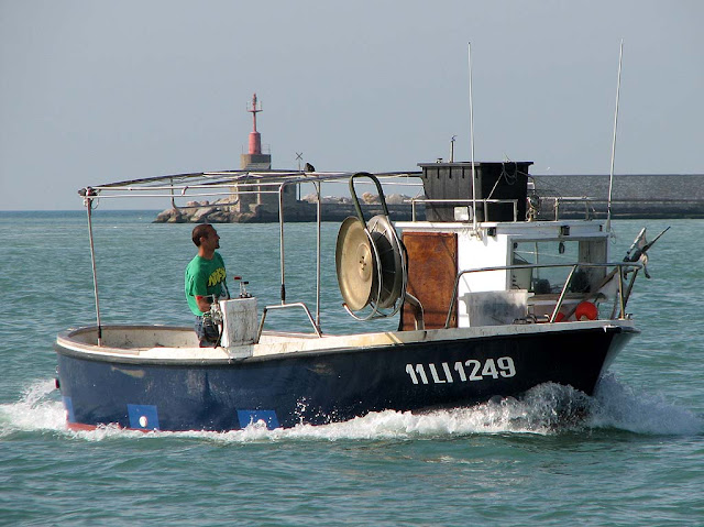 Fishing boat, Livorno
