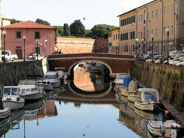 Ponte dei Domenicani, Blackfriars Bridge, Livorno