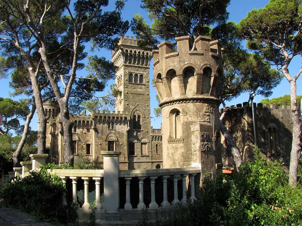 Livorno una foto al giorno: Villa Jana