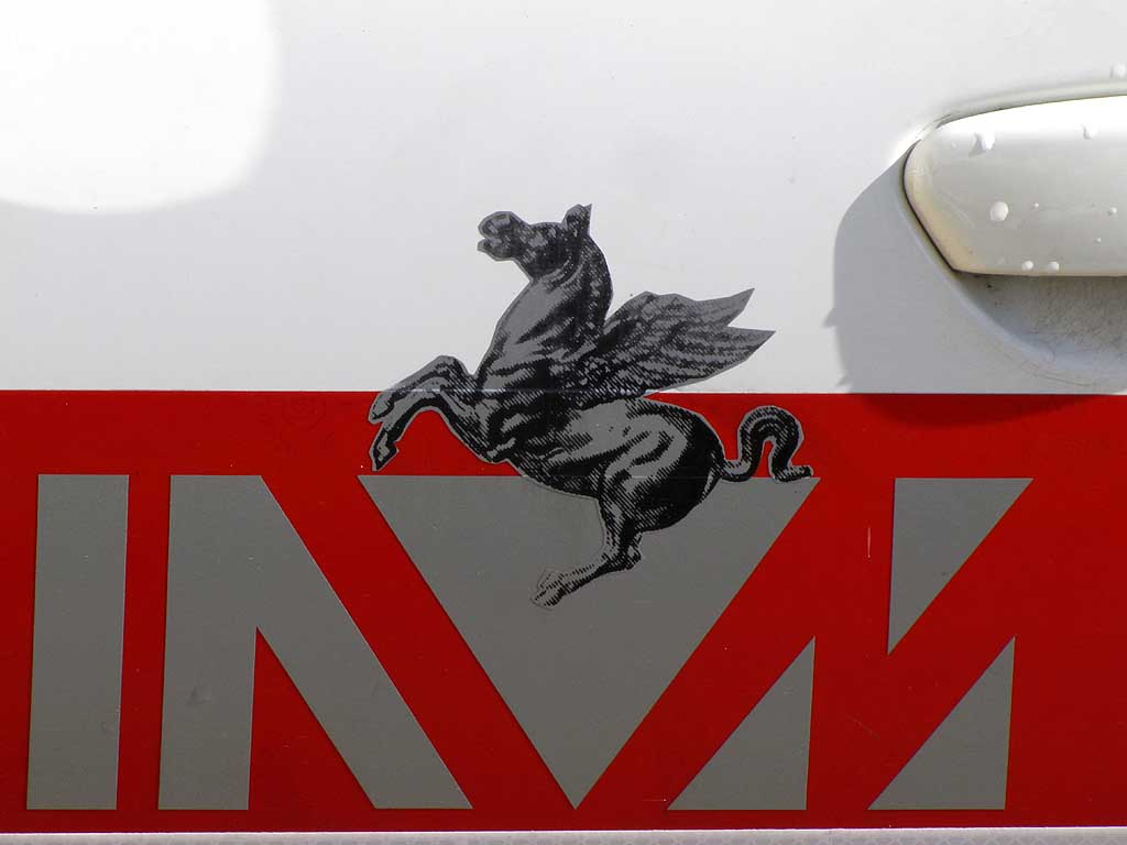 Pegasus, winged horse