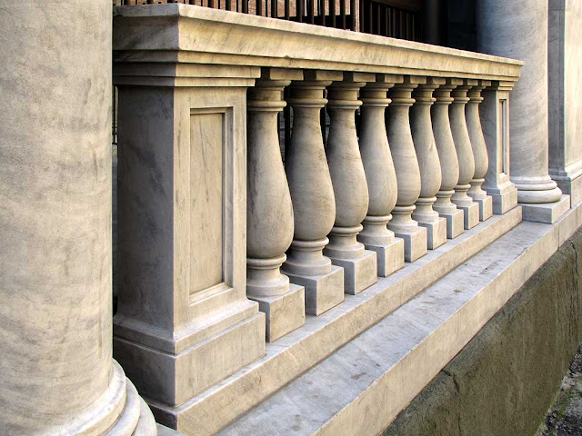 Balustrade, Cathedral, Livorno
