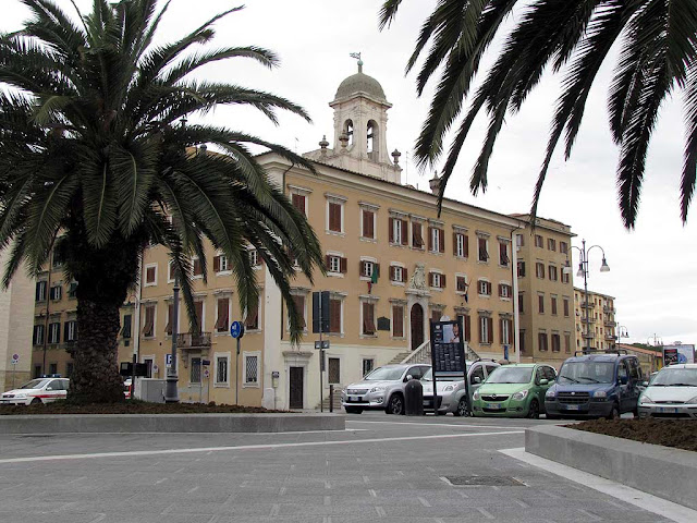 Town Hall square, Livorno