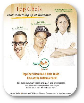 Top Chefs in TriNoma