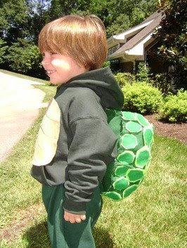 Un costume per carnevale da tartaruga: cartamodello e spiegazioni