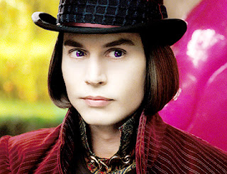 10 Most Outrageous Movie Characters Willy Wonka Johnny Depp
