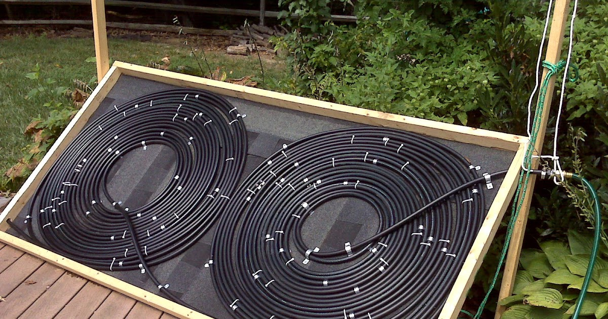 Bel air life weekend project solar pool heater - How soon can you swim after shocking pool ...