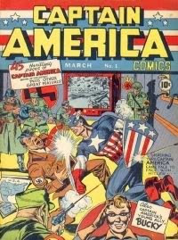 Captain America - First Comics March 1941