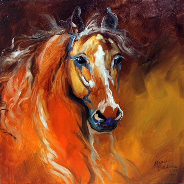 Horse Oil Painting Art