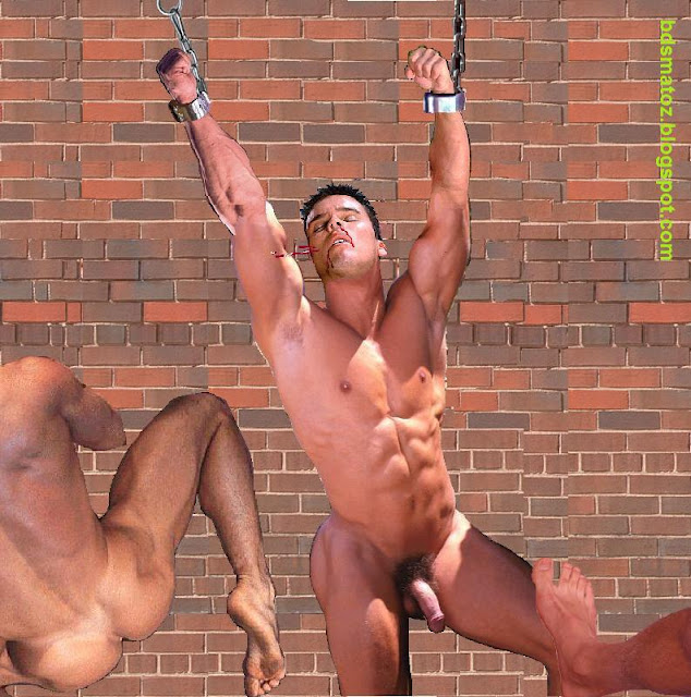 Naked guys as slaves 15