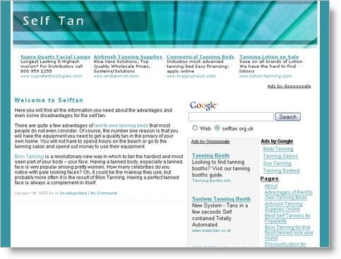 blog-home: 15 Adsense Optimized WordPress Themes