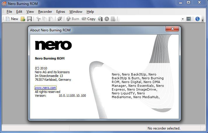 Nero Burning ROM 23.5.1010 + Full Crack [Latest]