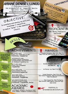 creativos de curriculums ejemplos
