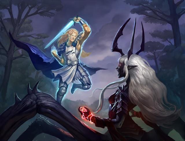 Blood elf vs drake - 1 10