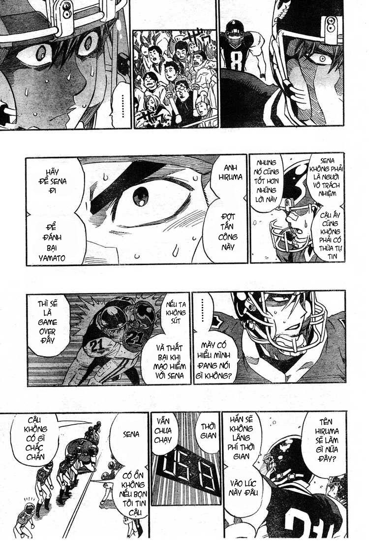 Eyeshield 21 chapter 296 trang 9